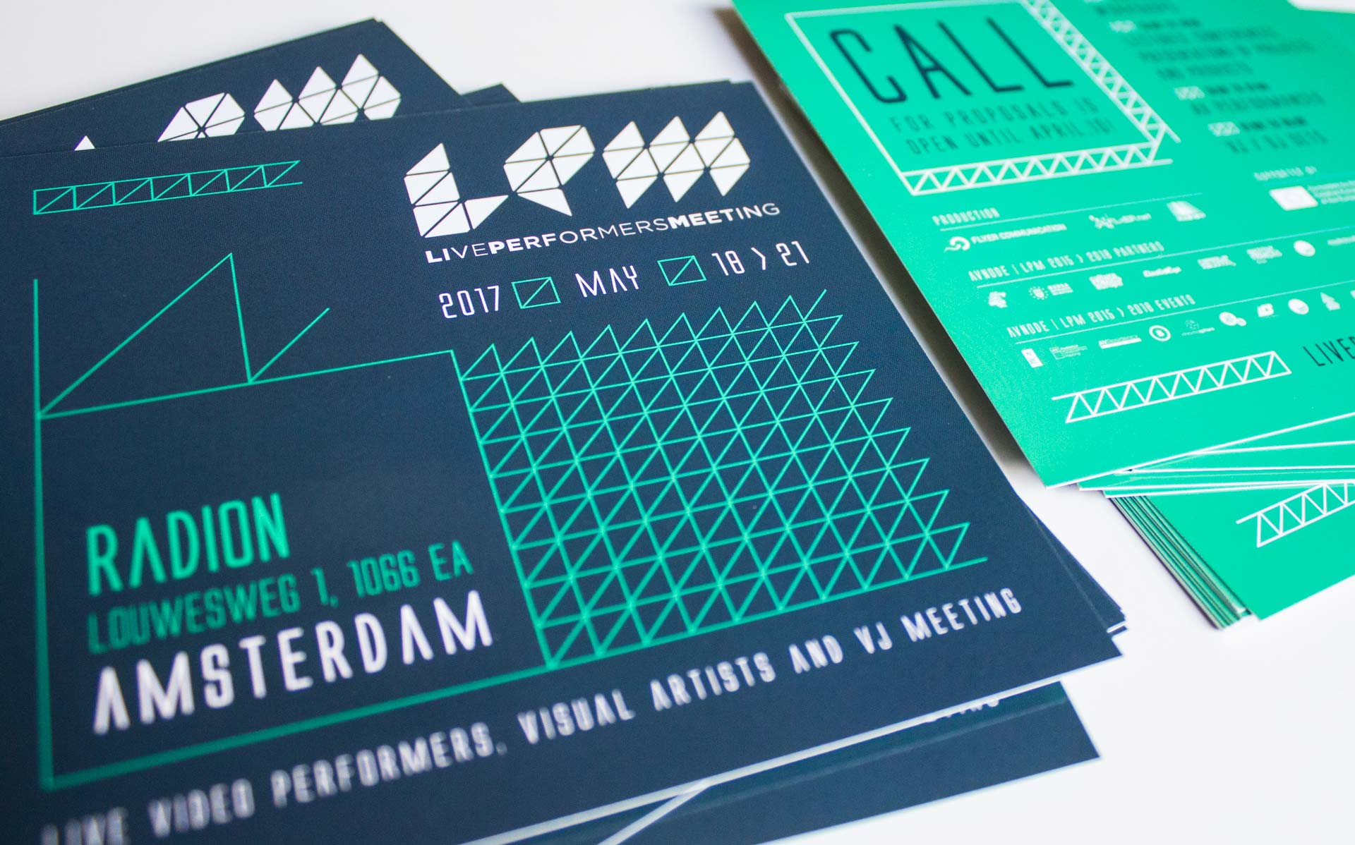 Live Performers Meeting 2017 - flyer