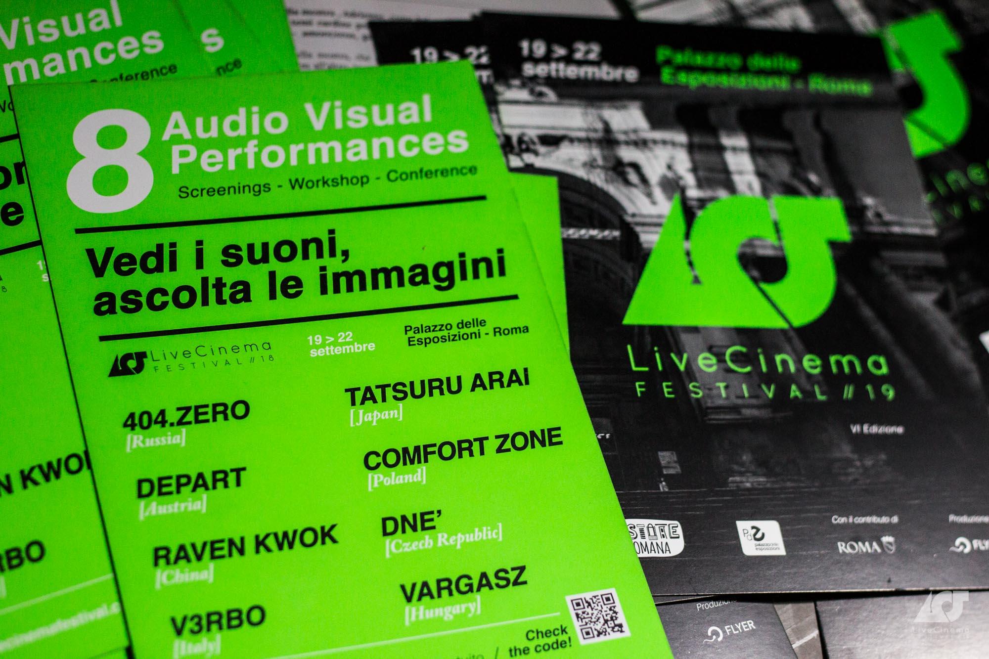 elisa antonacci Live Cinema Festival 2019 flyer