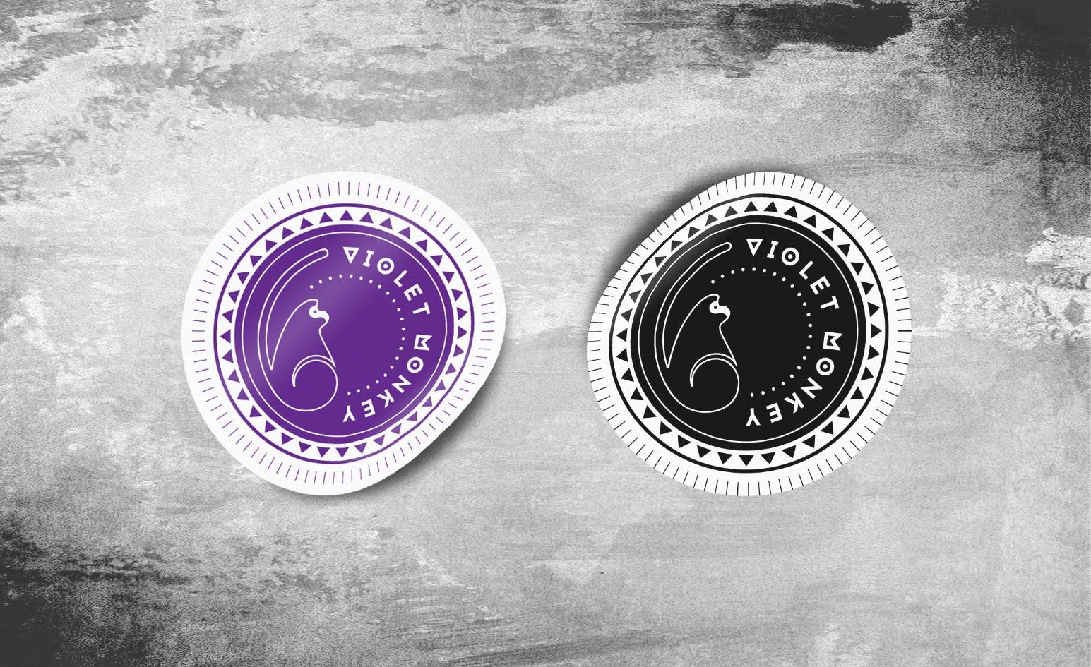 elisa-antonacci-violet-monkey-stickers-